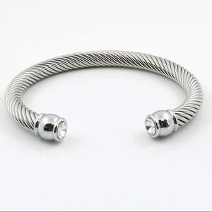 The styled collection silver bracelet